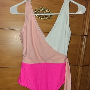 Shein colorblock one piece swimsuit